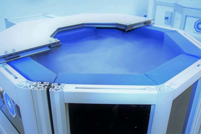 PowerCo Fitness Complex Cryotherapy Chamber